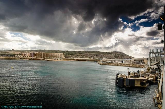 Zdjęcia: Cirkewwa, Malta, Odbijamy z portu w Cirkewwie, MALTA