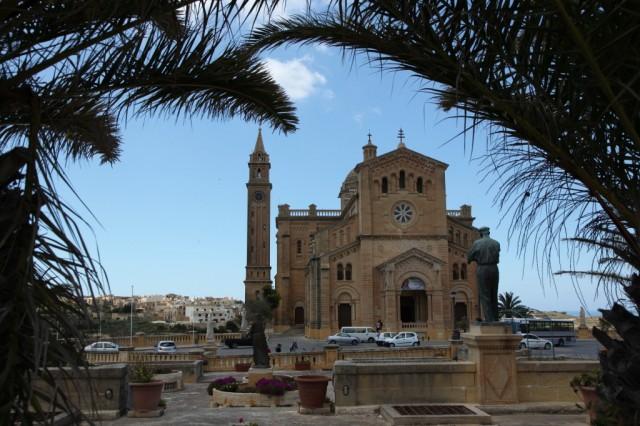 Zdjęcia: Għarb, Gozo, Bazylika Ta' Pinu, MALTA