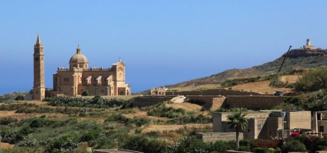 Zdjęcia: Zachodnia część wyspy, Gozo , Sanktuarium w Ta'Pinu, MALTA