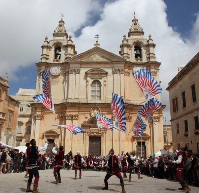 Zdjęcia:  Mdina, Malta centralna, Parada, MALTA