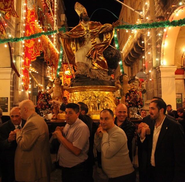 Zdjęcia: Floriana, Valletta , Procesja, MALTA