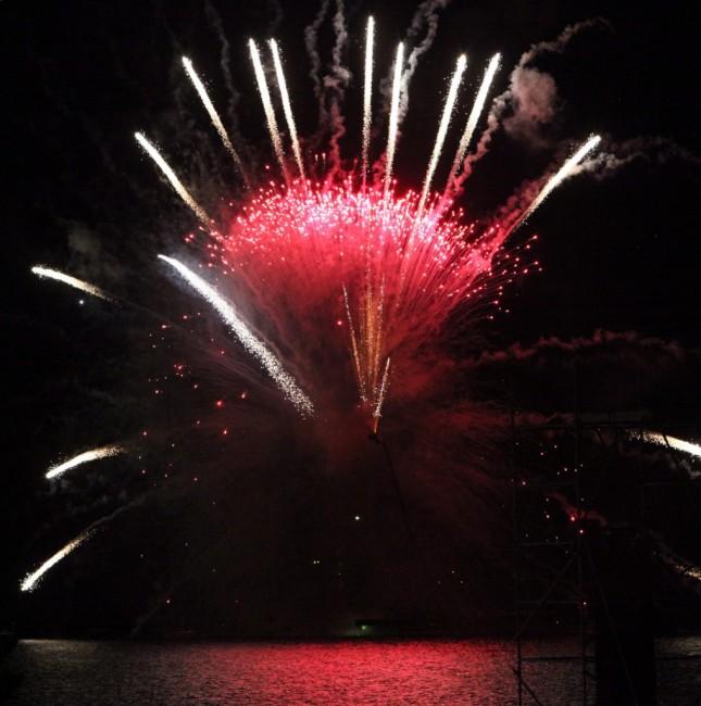 Zdjęcia: Floriana, Valletta , Pokaz fajerwerków, MALTA