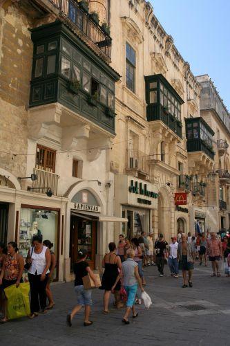 Zdjęcia: Valetta, Malta, Republic Street, MALTA
