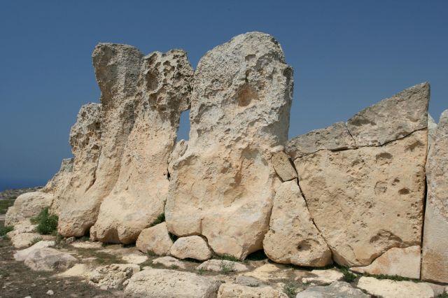 Zdjęcia: Południe Wyspy, Malta, Hagar Qim, MALTA
