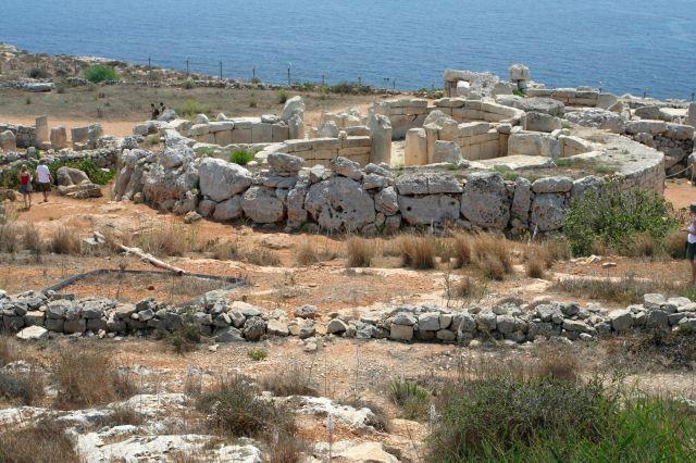Zdjęcia: Południe Wyspy, Malta, Mnajdra, MALTA