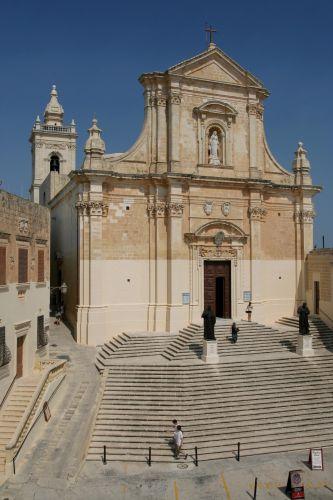 Zdjęcia: Victoria (Rabat), Gozo, Katedra, MALTA