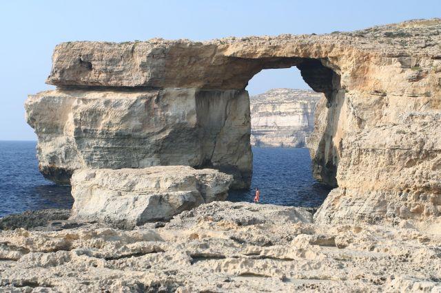 Zdj�cia: Dwejra Point, Gozo, Lazurowe Okno, MALTA