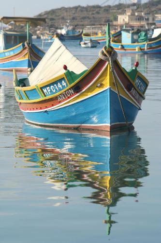 Zdj�cia: Marsaxlokk, Malta, Luzzu, MALTA