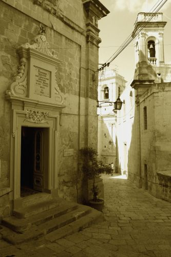 Zdjęcia: Vittoriosa, Malta, Zaułek, MALTA