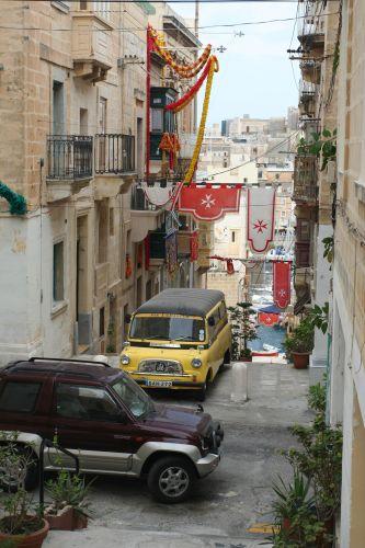 Zdjęcia: Senglea, Malta, Uliczka, MALTA