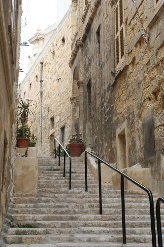 Zdjęcia: Senglea, Malta, Schodki, MALTA