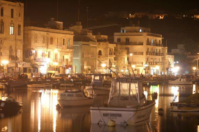 Zdjęcia: Marsascala, Malta, Wieczór w Marsascali, MALTA