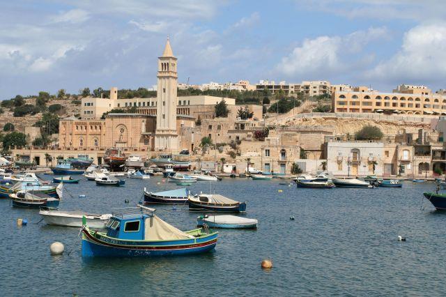 Zdjęcia: Marsascala, Malta, Marsascala Bay, MALTA