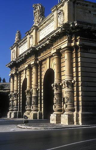 Zdj�cia: Floriana, Portes des Bombes, MALTA