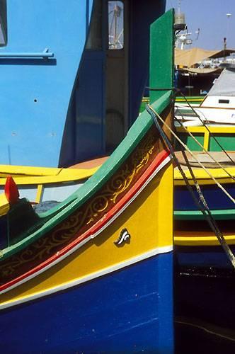 Zdjęcia: Marsaxlokk, Luzzu, MALTA