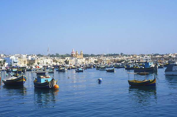 Zdjęcia: Marsaxlokk, Port Marsaxlokk, MALTA