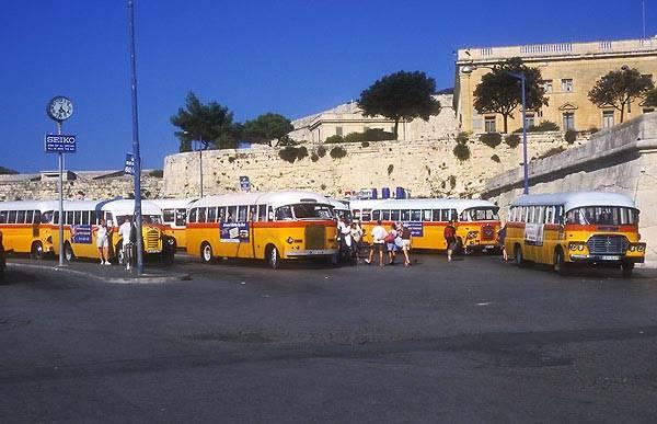 Zdjęcia: Valletta, Valletta - Dworzec autobusowy, MALTA