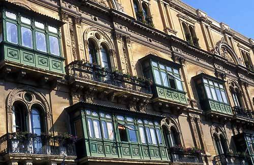 Zdjęcia: Valletta, Balkony, MALTA