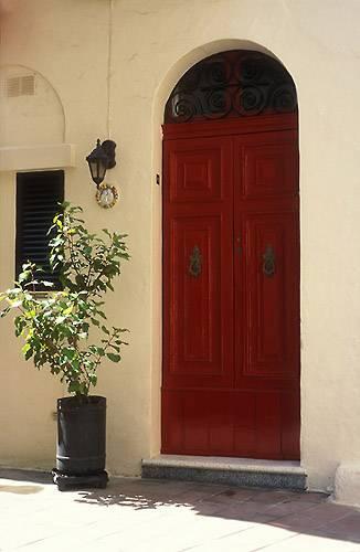 Zdjęcia: Rabat, Czerwone drzwi, MALTA