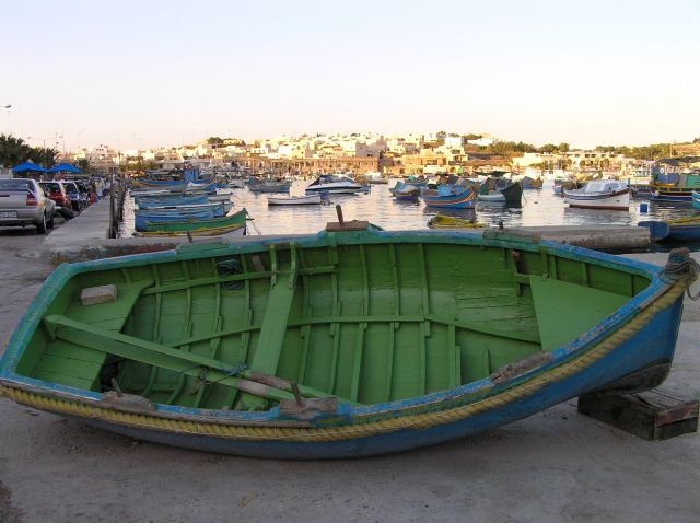 Zdjęcia: Marsaxlokk, malta, rybacki port2, MALTA