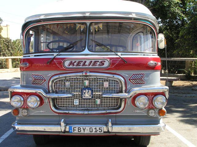 Zdjęcia: Gozo, Gozo, autobus z Gozo, MALTA