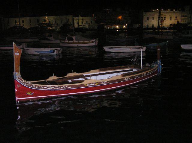 Zdjęcia: sanglea, trzy miasta, nocną w porcie, MALTA