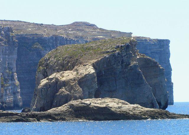 Zdjęcia: Gozo, malta, skała grzyba, MALTA