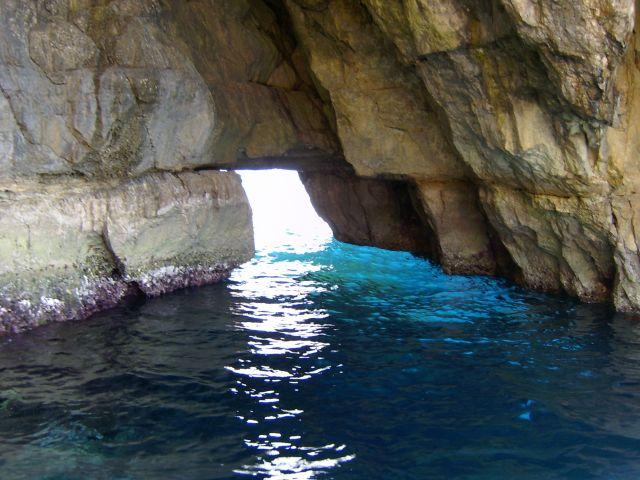 Zdjęcia: wysepka, Południowe wybrzeże, niebieska grota, MALTA