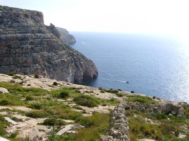 Zdj�cia: wysepka, Po�udniowe wybrze�e, Dingli-okolice, MALTA