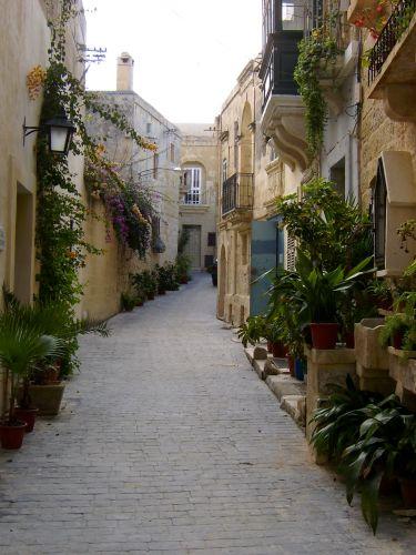 Zdjęcia: Valetta, Valetta, Romantyczna uliczka, MALTA