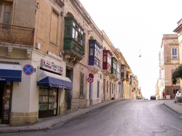 Zdjęcia: Sliema, Valetta, Sliema-kolorowe balkony, MALTA