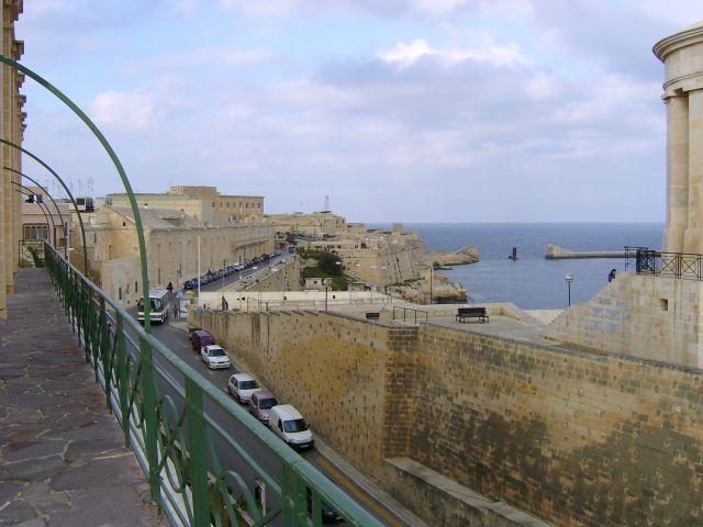 Zdjęcia: La Valetta, Malta, Mur obronny, MALTA