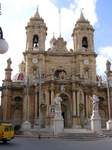 Zdj�cia: Paola, Malta, Katedra w Paoli, MALTA