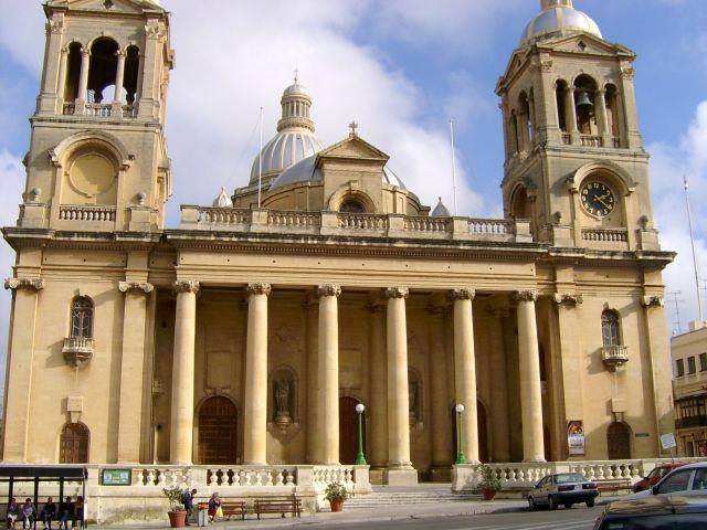 Zdjęcia: Katedra w Moście, Malta, 365 kościół na Malcie, MALTA