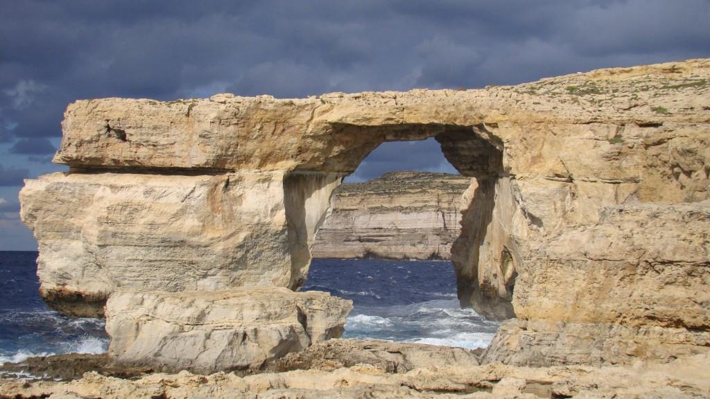 Gozo Malta  city photos gallery : Zdjęcia: Gozo, Gozo, Lazurowe okno, MALTA