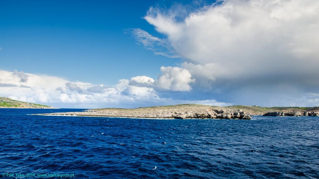 Zdjęcia: Malta/Gozo, Malta, Widok z promu na okolice Comino, MALTA
