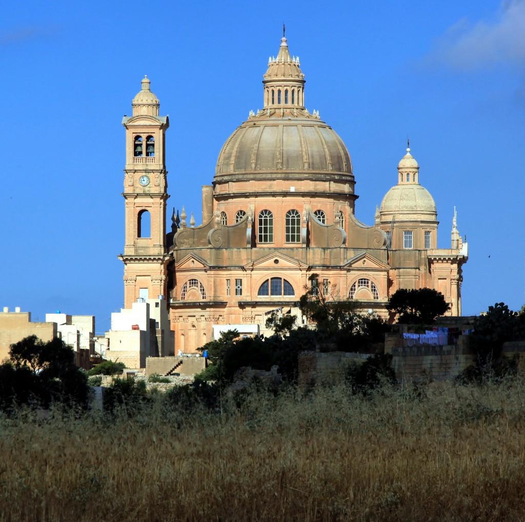 Zdjęcia: Xewkija, Gozo, Kościół Świętego Jana Chrzciciela, MALTA