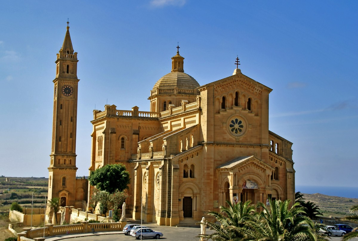 Zdjęcia: Għarb , Gozo, Kościół Ta' Pinu, MALTA