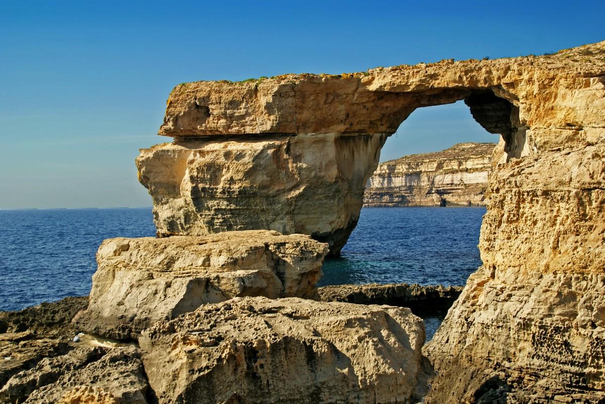 Zdjęcia: Gozo, Gozo, Azure Window 2012 r, MALTA