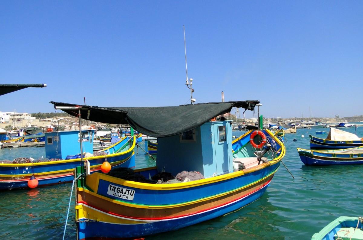 Zdjęcia: Marsaxlokk,  , Maltańskie wspomnienie (5), MALTA