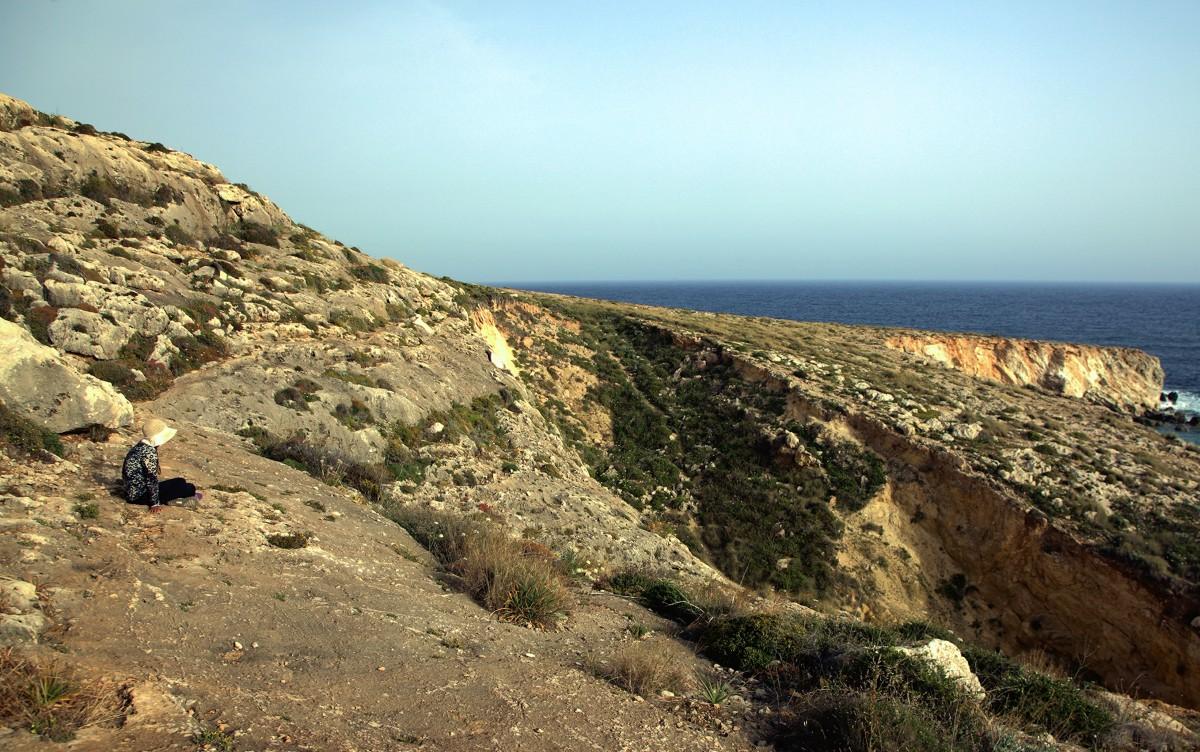 Zdjęcia: Għar Lapsi , Siġġiewi, Kontemplacja, MALTA