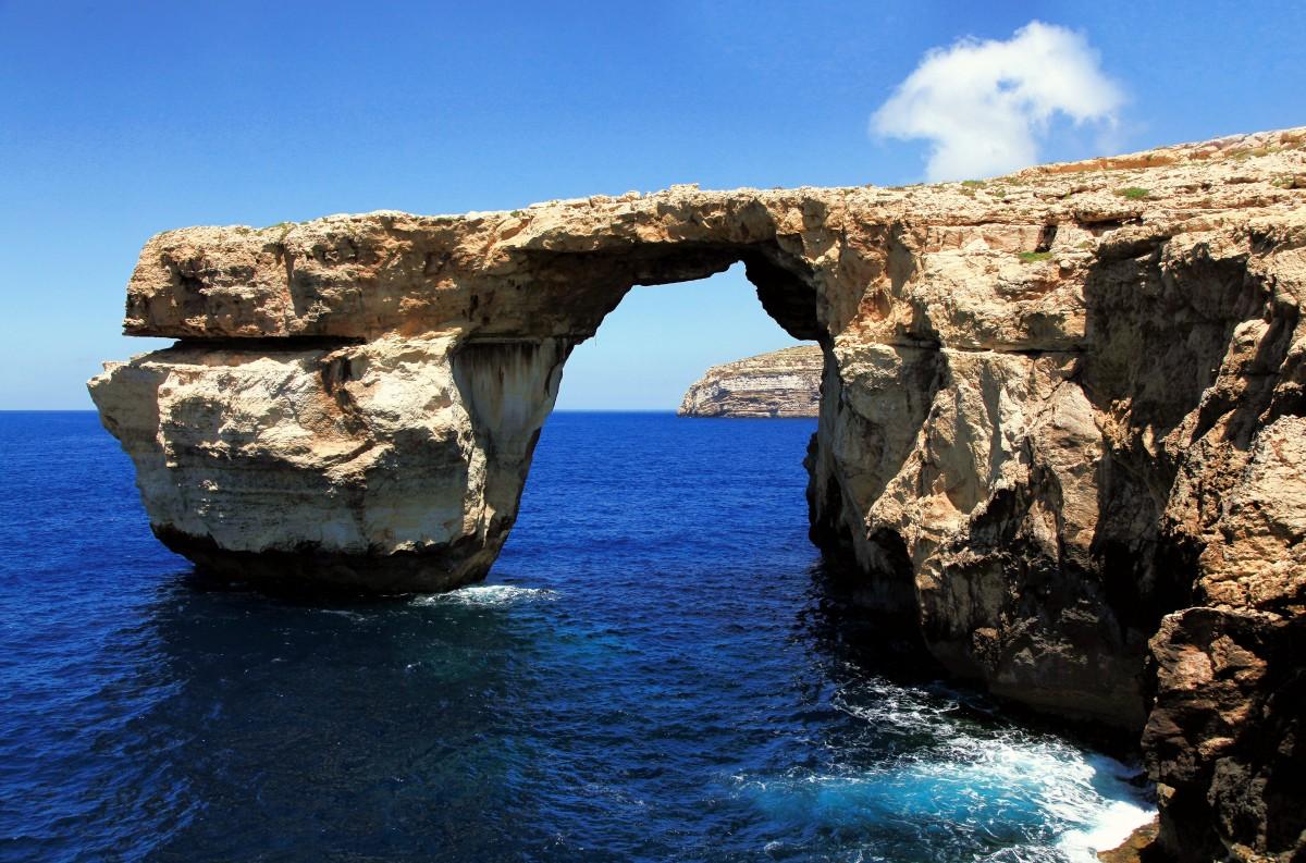 Zdjęcia: Lazurowe Okno, Dwejra, Gozo, Ale to już było..., MALTA