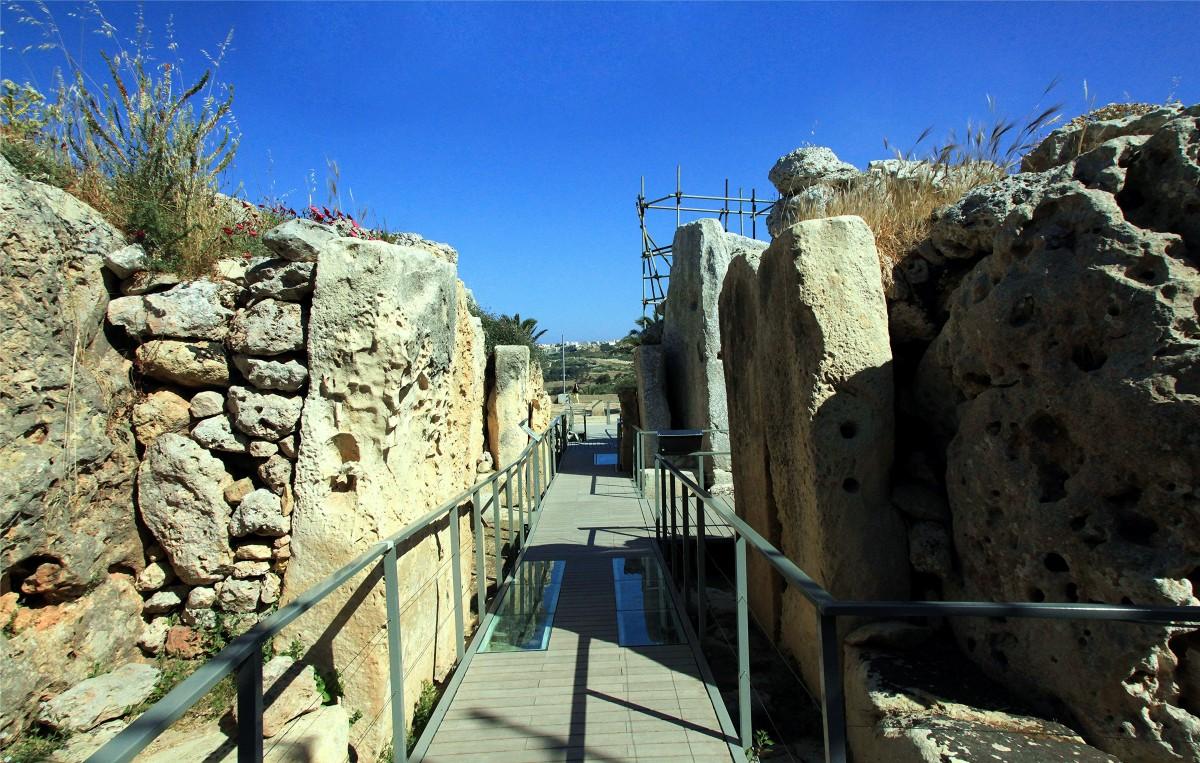 Zdjęcia: Xagħra, Gozo, Budowla megalityczna, MALTA