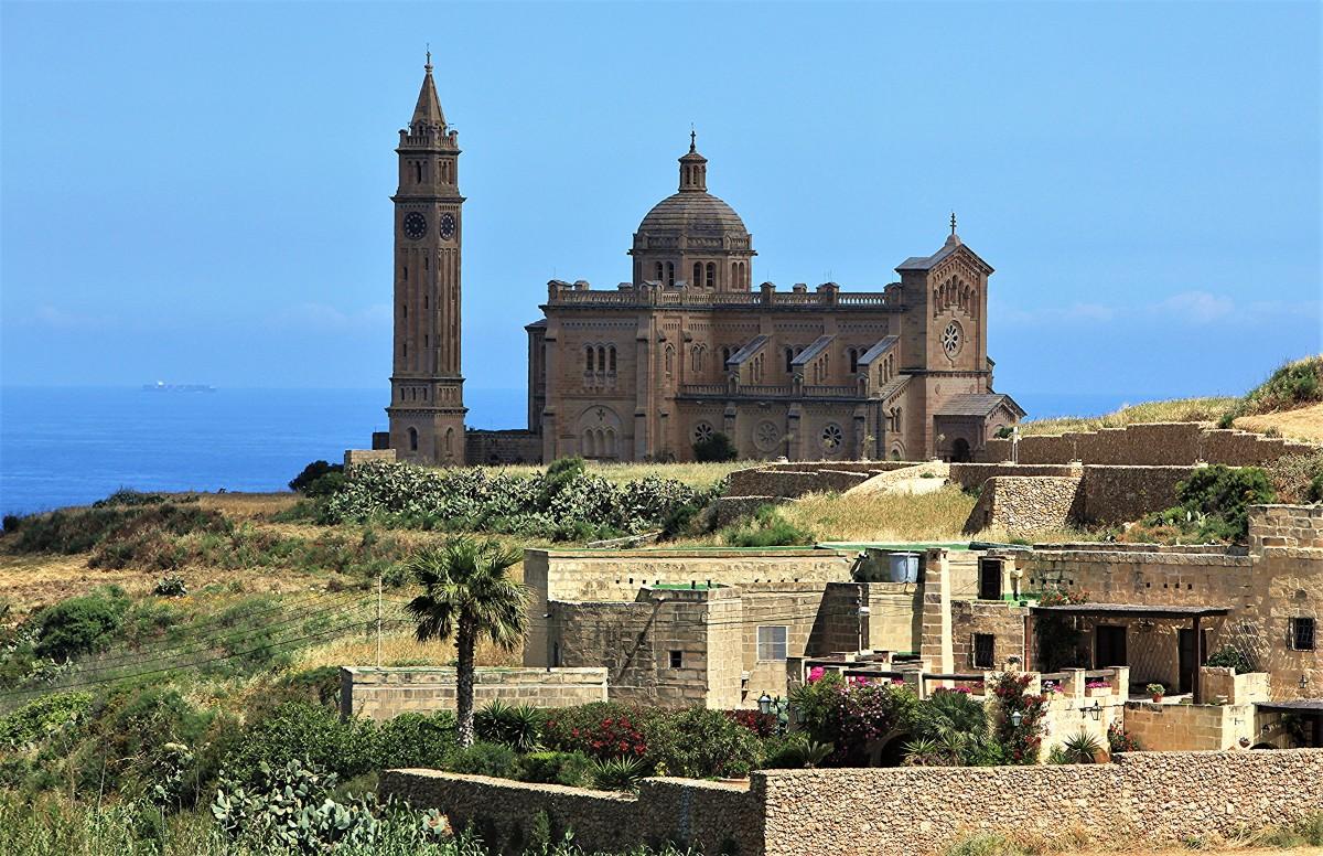 Zdjęcia: ., Gozo, Bazylika Ta' Pinu, MALTA