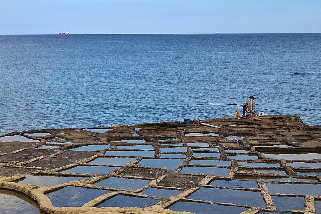 Zdjęcia: Marsaskala, Ich dwóch i błękit, MALTA