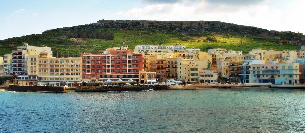 Zdjęcia: Marsalforn, Gozo, Słoneczne igraszki, MALTA