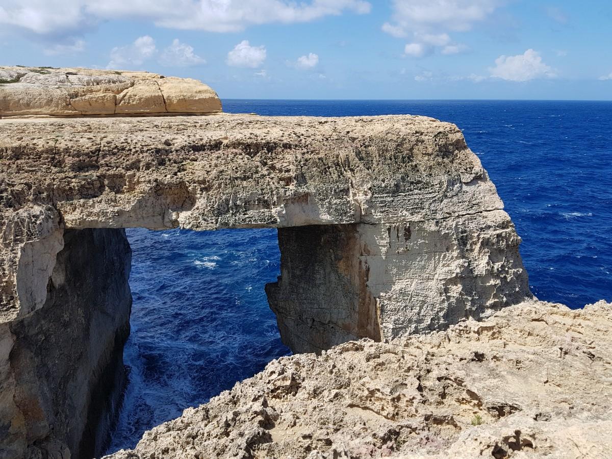 Zdjęcia: Wied il-Mielah, Gozo, Też lazurowe , MALTA