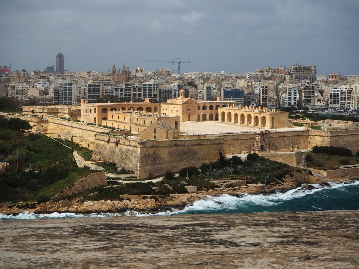 Zdjęcia: Valletta, Malta, Fort Manoel, MALTA
