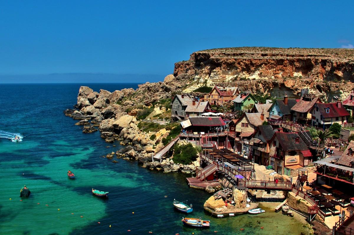 Zdjęcia: Poppeye Village, Malta, Poppeye Village, MALTA