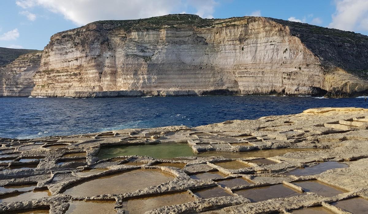 Zdjęcia: Nad zatoką Xlendi, Gozo, Zatoczka, MALTA